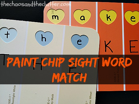 Paint-Chip-Sight-Word-Match